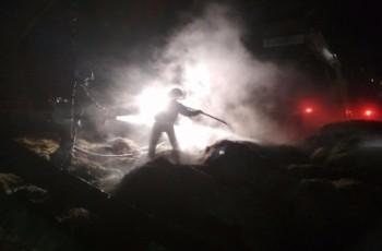 Spłonęła kolejna stodoła - podpalacz z Parszowa