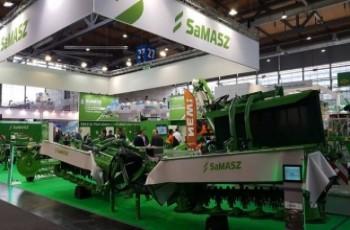 Nowości SaMASZ  na Targach  Agritechnica 2017