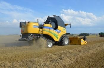 New Holland wprowadza do Polski nowy kombajn zbożowy