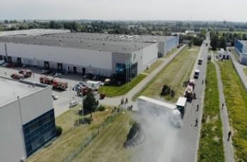 Ćwiczenia manewrowe Bayer na terenie Centralnego